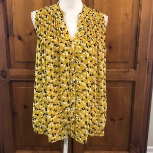 Sunday in Brooklyn Sleeveless Blouse Size Small
